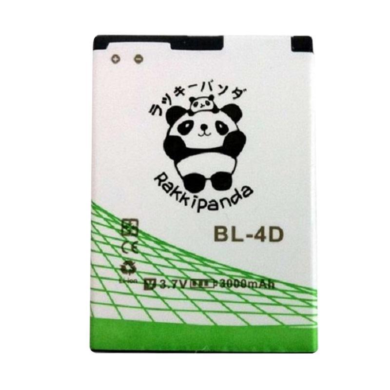 RAKKIPANDA Double Power IC Battery for Nokia BL-4D