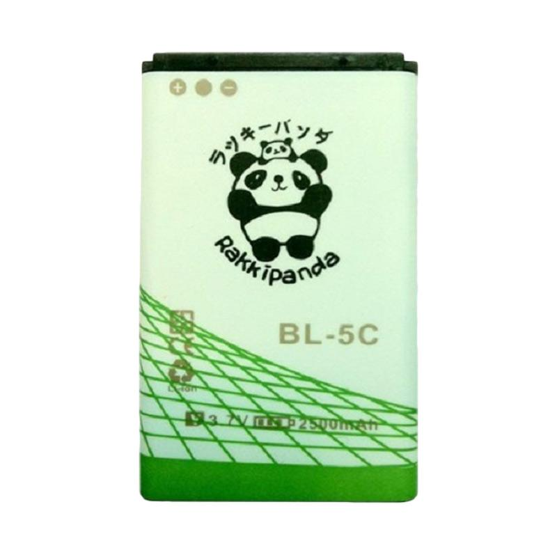 RAKKIPANDA BL-5C Baterai for Nokia [DOUBLE POWER/ DOUBLE IC]