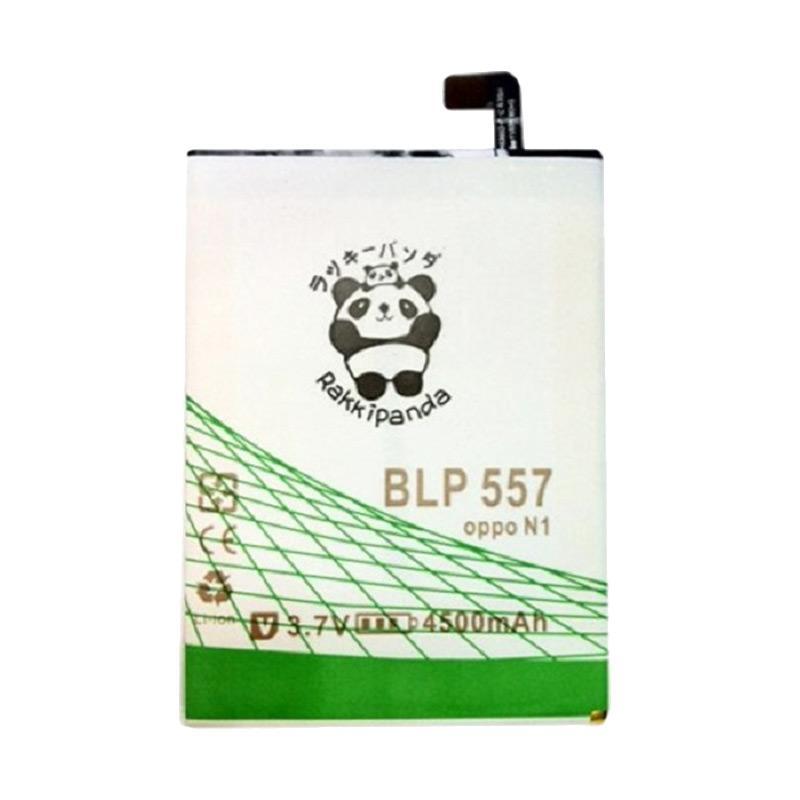 RAKKIPANDA Power Double & IC Battery for Oppo N1 [BLP 557]