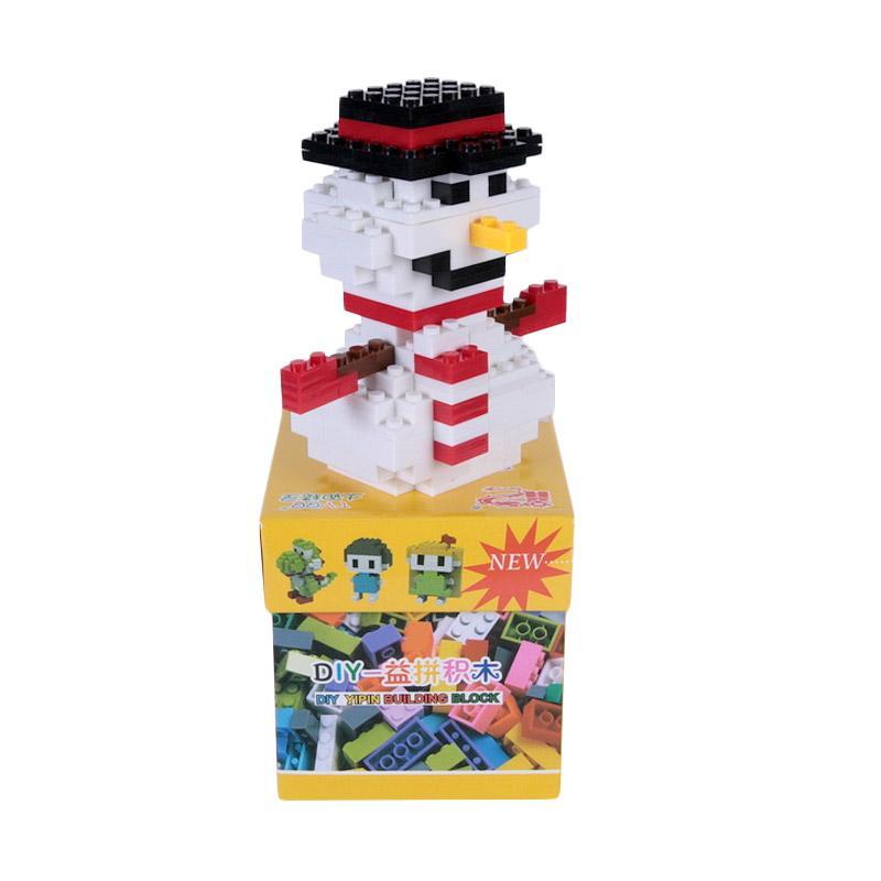 Chloe Babyshop Doll Snow LEGO Mainan Anak - White