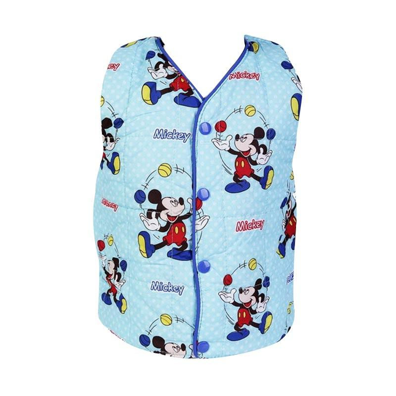Chloe Babyshop F986 Jaket Rompi Bubble Mickey - Blue