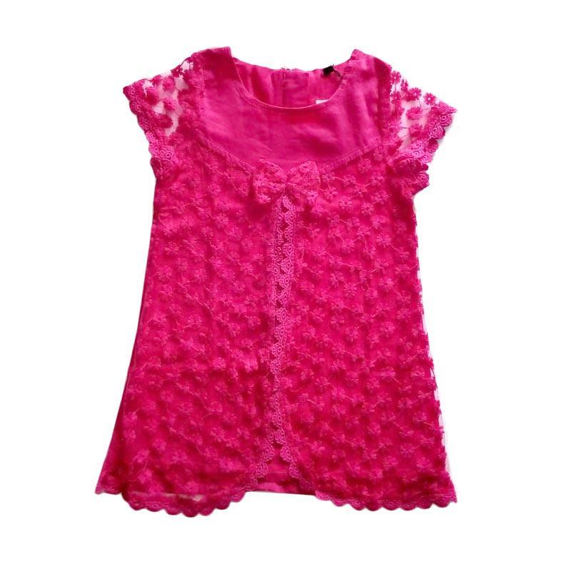 harga Cutemiel Chn DKNY Brukat Dress Anak Perempuan - Pink Blibli.com