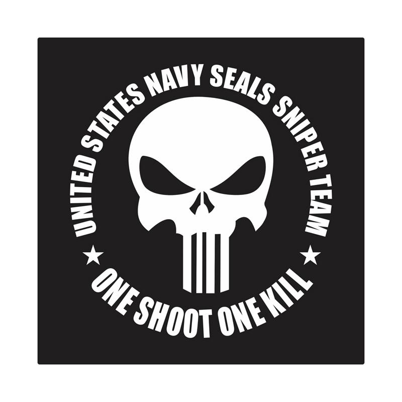Kyle United States Navy Seal Sniper Team Cutting Sticker