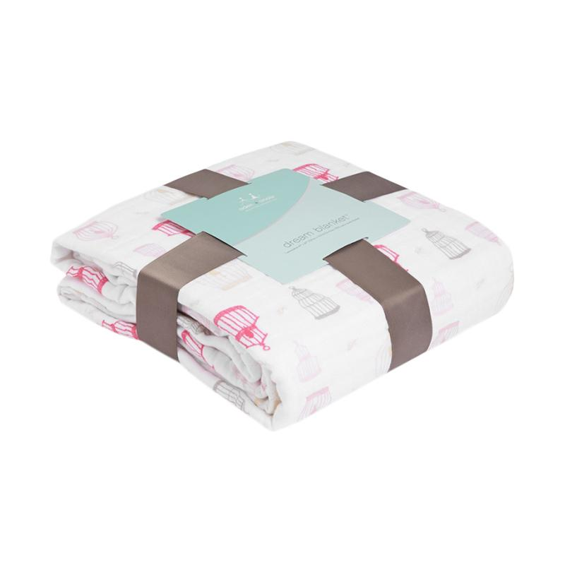 harga Aden Anais Classic Dream Blanket Selimut Bayi - Love Bird Blibli.com