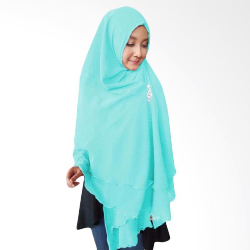 Kus Group Hijab Oki Panjang Kerudung Syar'I Biru
