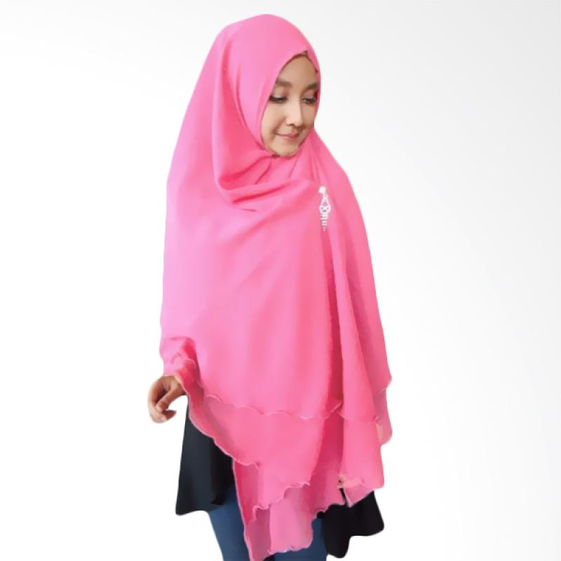 Kus Group Hijab Oki Panjang Kerudung Syar'I - Pink