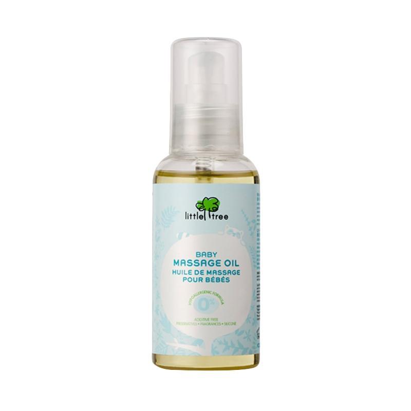 Little Tree Baby Massage Oil Minyak Pijat Bayi [100 mL]