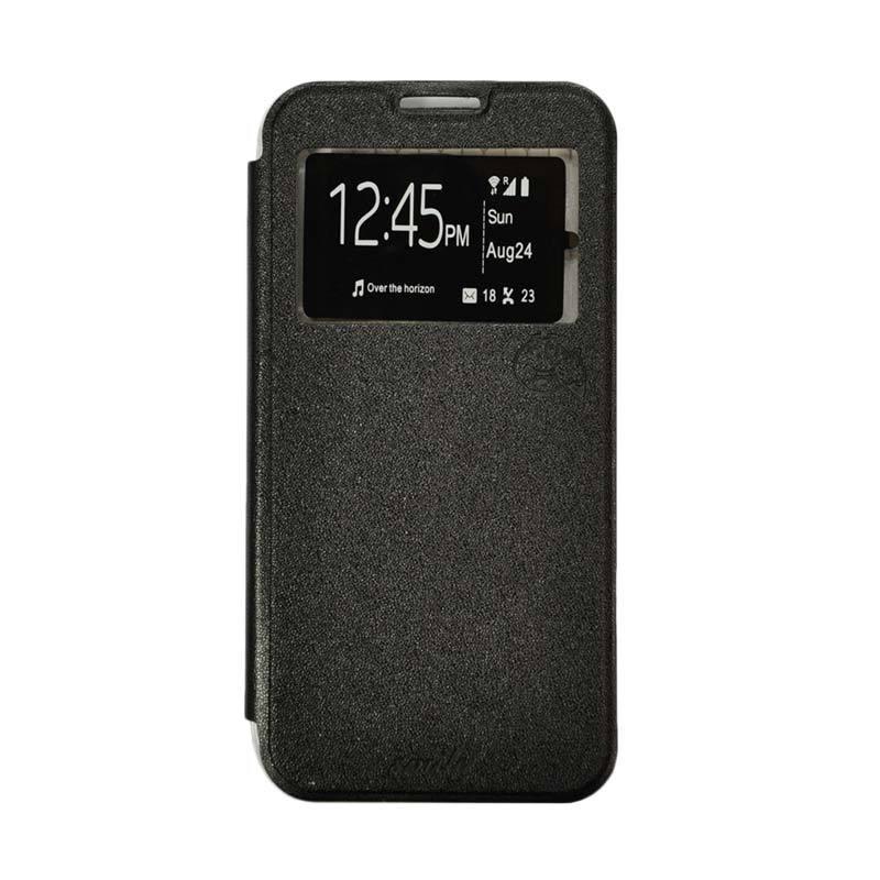 SMILE Flip Cover Casing for Samsung Galaxy Mega 2 G750 - Hitam