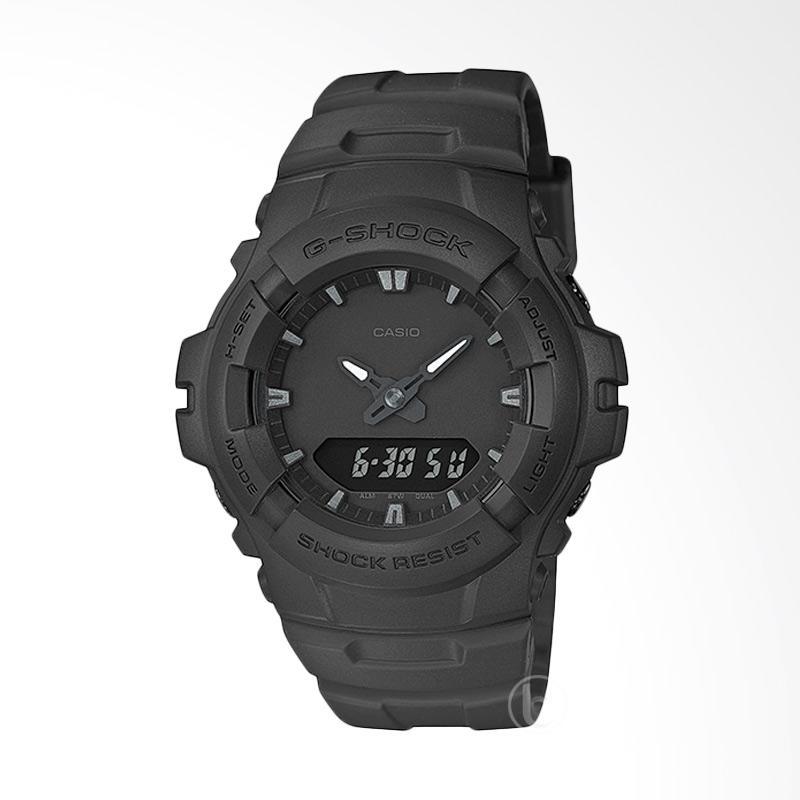 Jual CASIO G-SHOCK G-100BB-1A Full Black Ltd Edition Jam Tangan Pria- Black Online - Harga & Kualitas Terjamin | Blibli.com