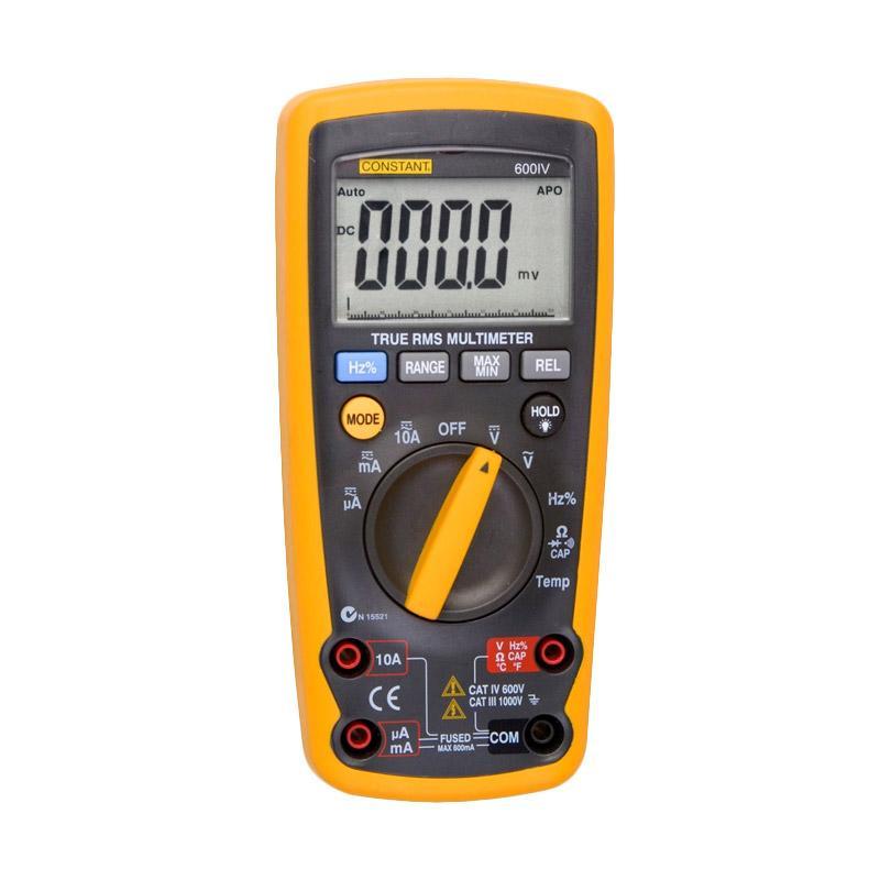 Constant DMM600 IV Digital Multimeter - Black Yellow