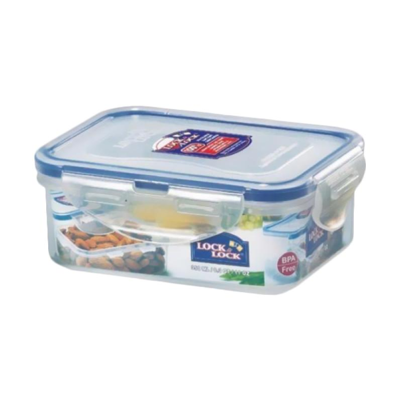 harga Lock&Lock HPL806 Rectangular Short Food Container [350 mL] Blibli.com
