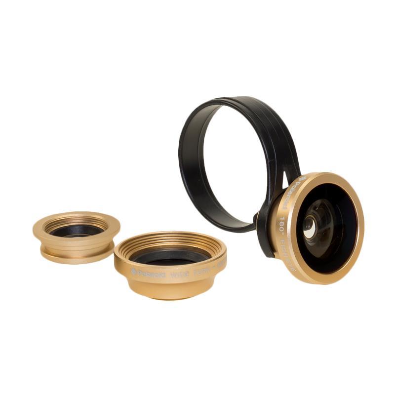 harga Polaroid CL3 3in1 Lensa Kamera Smartphone - Gold Blibli.com