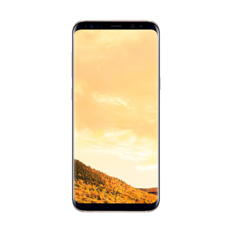 Samsung Galaxy S8 Plus Smartphone - Maple Gold [64GB/ 4GB]