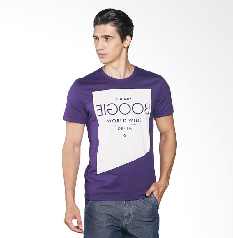 BOMBBOOGIE 12737B4DU Heath Ledger Tee Kaos Pria - Dark Purple Extra diskon 7% setiap hari Extra diskon 5% setiap hari Citibank – lebih hemat 10%