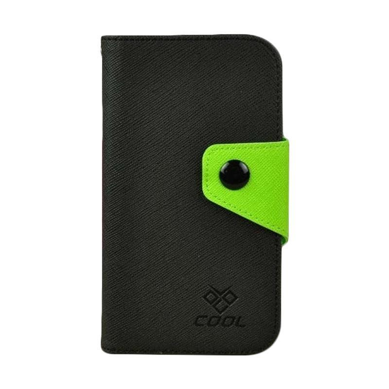 OEM Rainbow Flip Cover Casing for Gionee King Kong GN5001 - Hitam