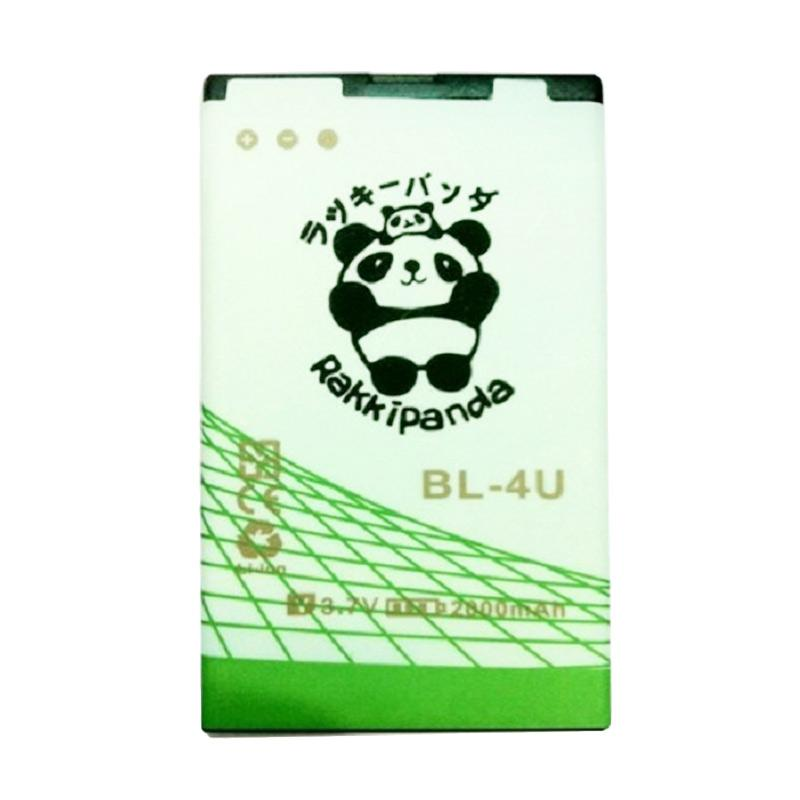 RAKKIPANDA BL-4U Baterai for Nokia [Double Power/Double IC]