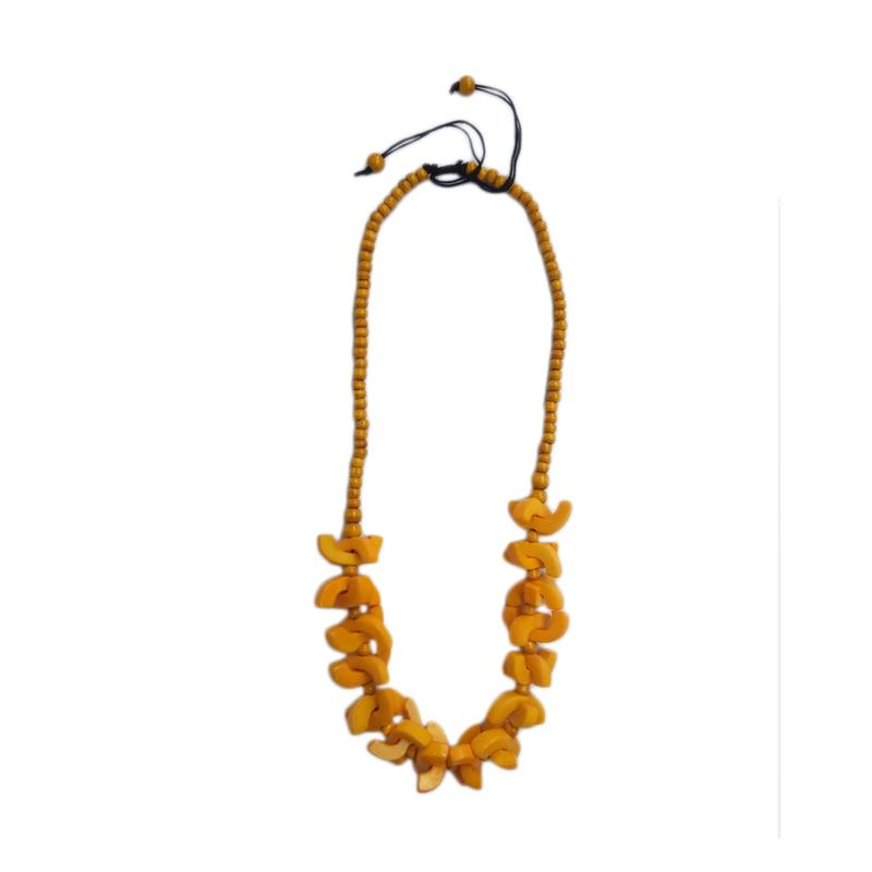 Tata Bali Shop 262 Kalung Fashion Wanita Khas Bali - Yellow