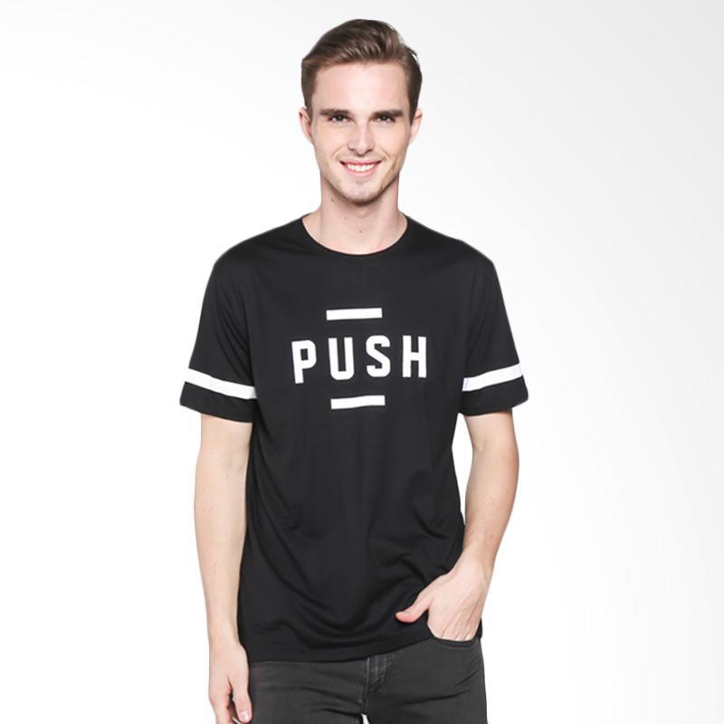 Third Day MT237 Push Short Sleeve T-Shirt Pria - Black