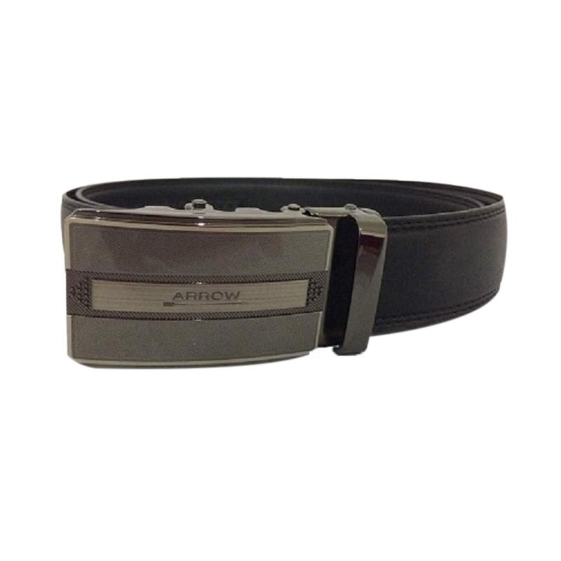 Arrow BP-AR2124SRA20-A35-AW002 Leather Belt Ikat Pinggang Pria - Black