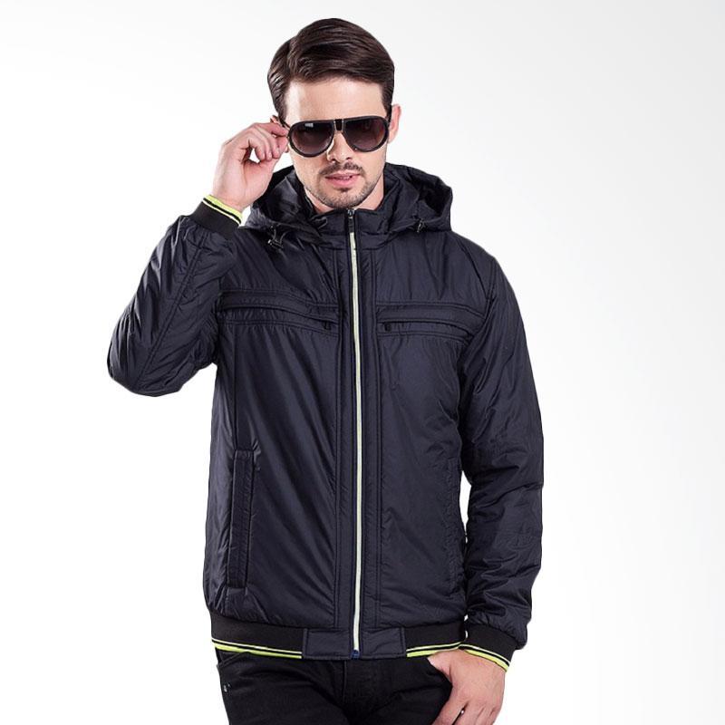 Bafash New Men Casual Jacket Pria - Navy