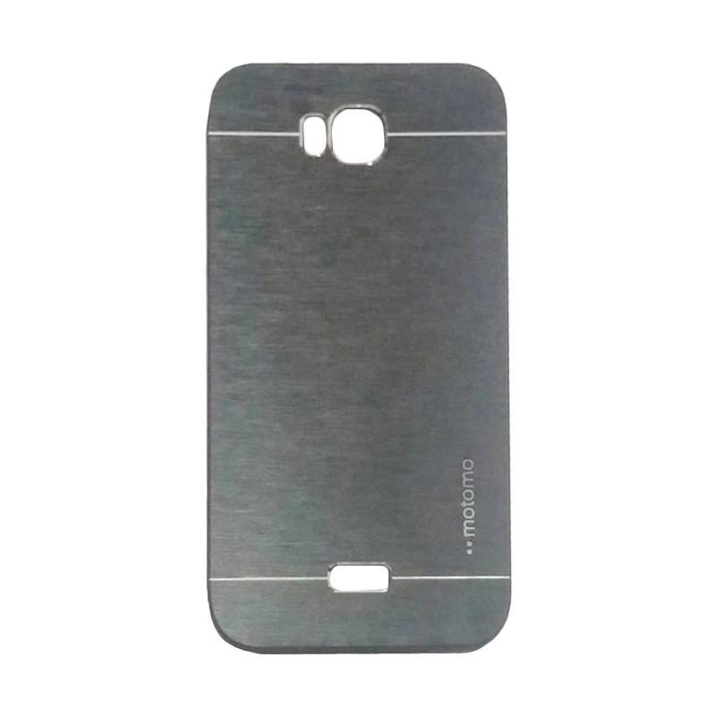 Motomo Metal Hardcase Backcase Casing for Huawei Y5C / Y5 Batik - Black