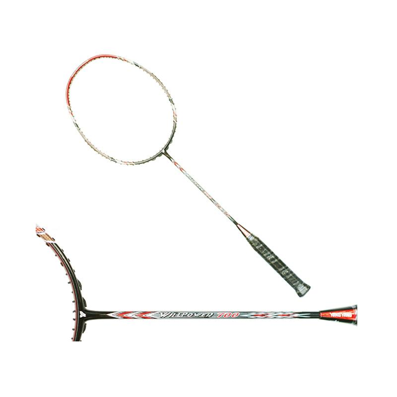 Yang Yang Willpower 700 Raket Badminton - Black Silver