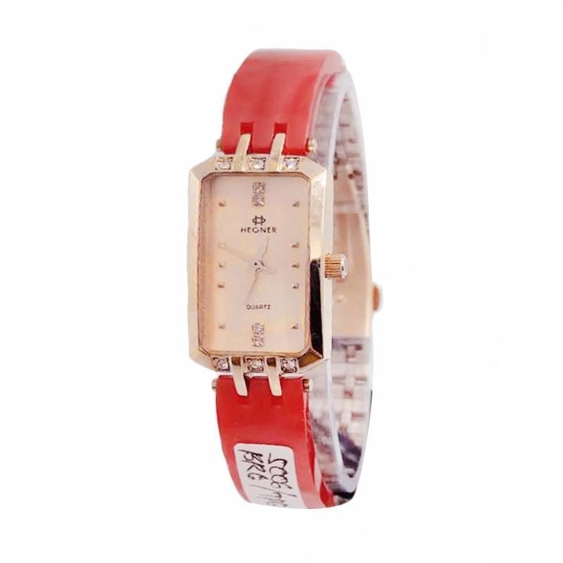 Hegner Ceramic Strap HGR5006 Jam Tangan Wanita - Merah