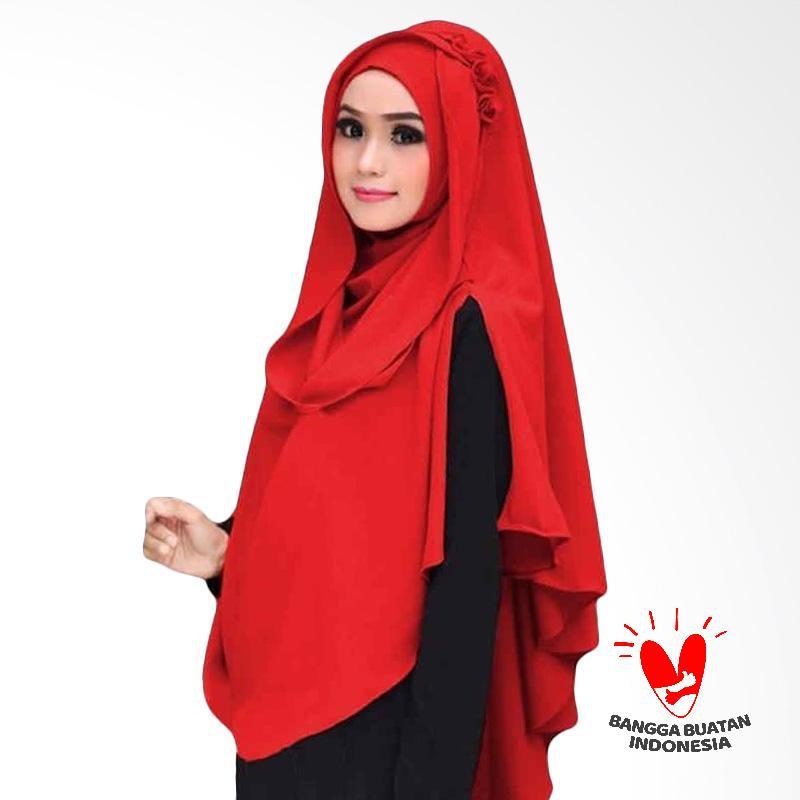 Kus Group Hijab Oki Panjang Kerudung Syar'I - Merah