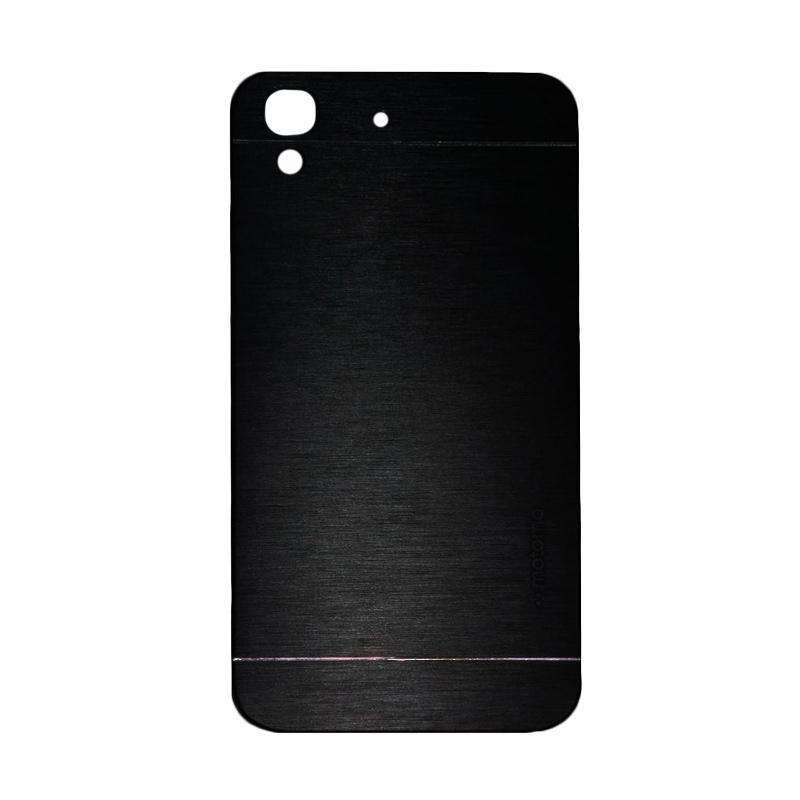 Motomo Metal Hardcase Backcase Casing for Huawei Y6 - Black
