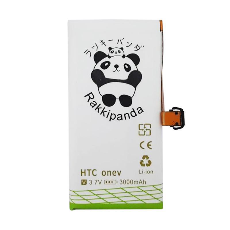RAKKIPANDA Double Power & IC Battery for HTC One V