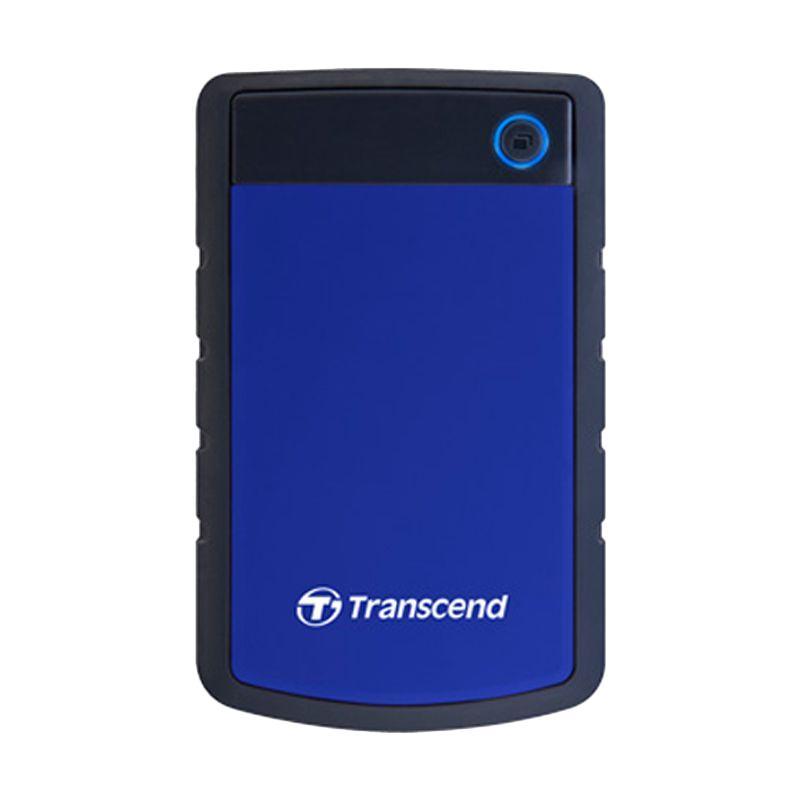 Transcend StoreJet 25H3B Biru Eksternal Hard Disk [1 TB]