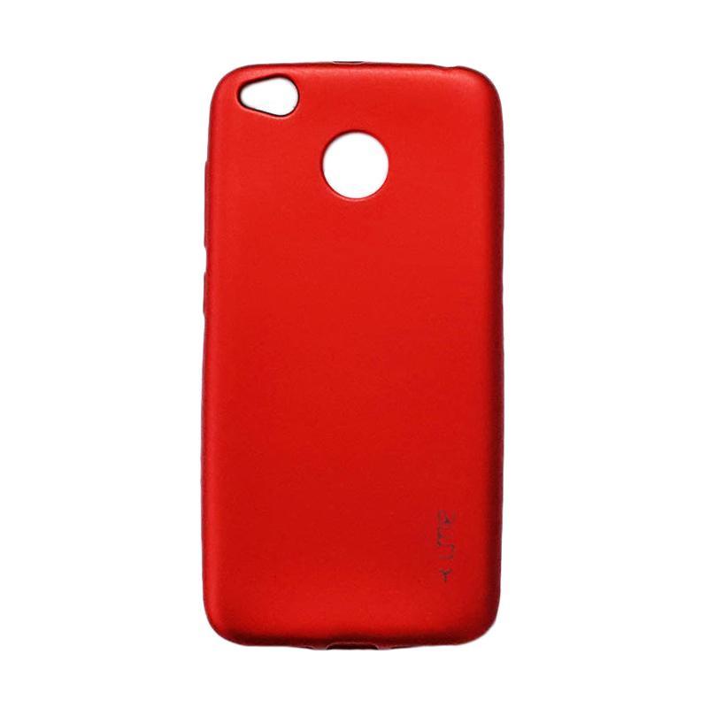 UME EMERALD SOFT CASE CASING COVER FOR XIAOMI REDMI 4X MERAH. Jual Ume Softcase Xiaomi Redmi 5X or Mi A1- Merah Online - Harga & Kualitas