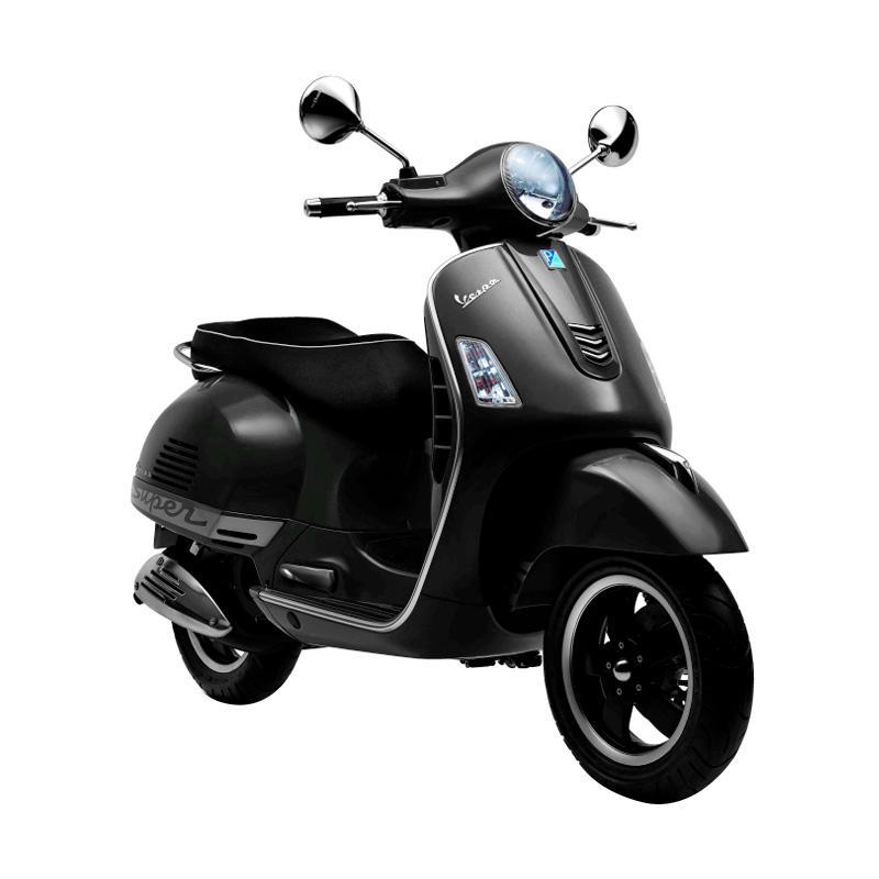 harga Vespa GTS 150 3V I.E Sepeda Motor - Nero Vulcano [OTR Bandung] Blibli.com