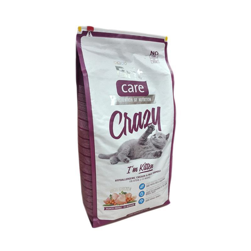 Brit Care Super Premium Crazy I'm Kitten Cat Food [7 kg]
