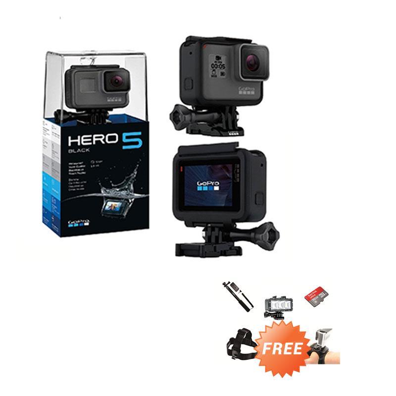 GoPro HERO5 Action Camera - Black [Paket Diving]