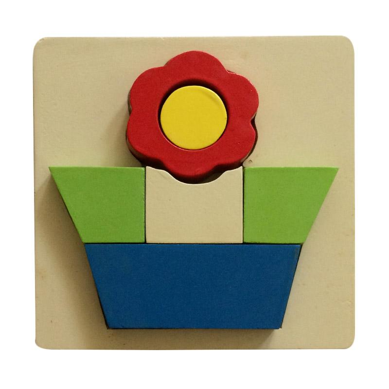 Indigo Kid Toys Bunga Mainan Edukasi Puzzle