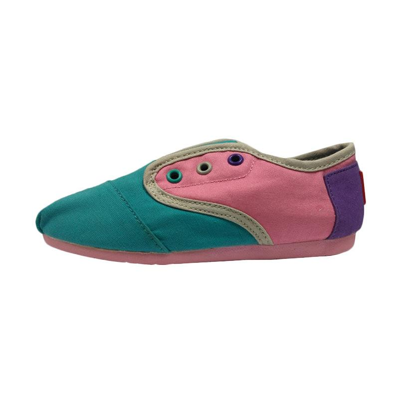 Kohai Nuruke Sepatu anak - Purple Pink Tosca