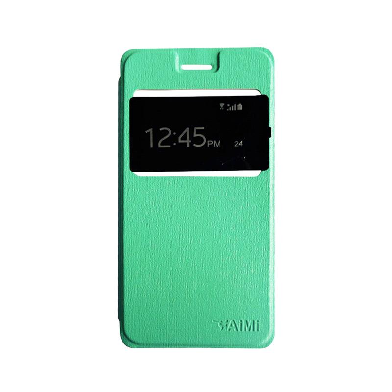 AIMI Flipshell Flipcase Flip Cover Casing for Oppo A57 - Tosca