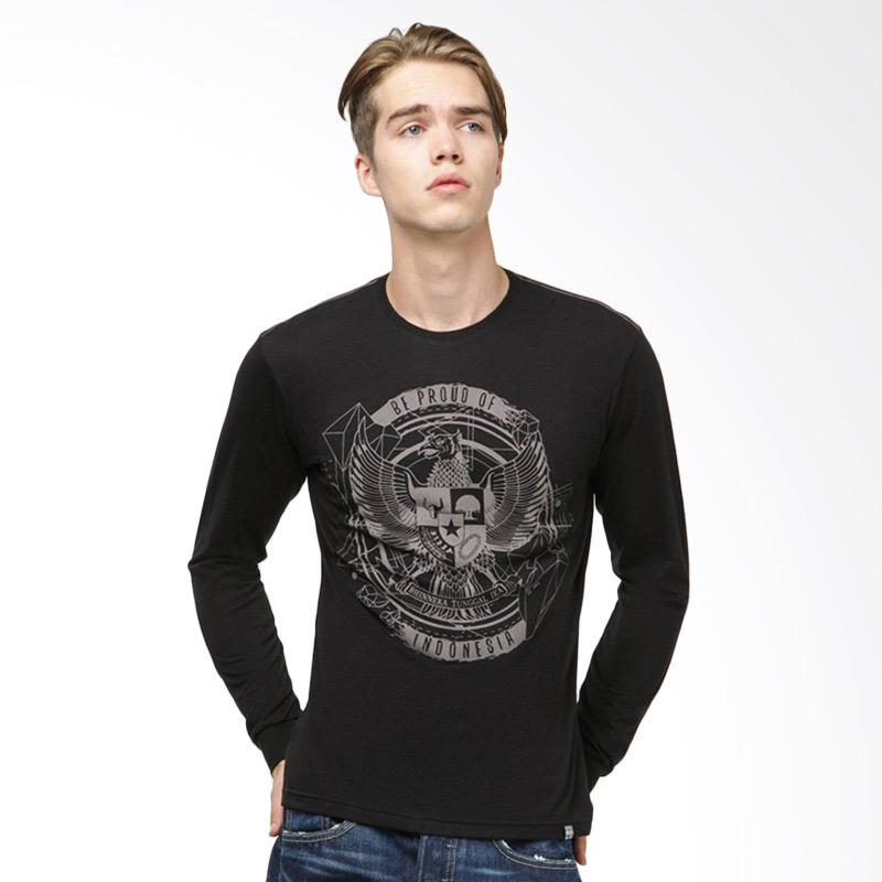 Be Proud of Indonesia Garuda Urban LS T-Shirt Pria - Black Extra diskon 7% setiap hari Extra diskon 5% setiap hari Citibank – lebih hemat 10%
