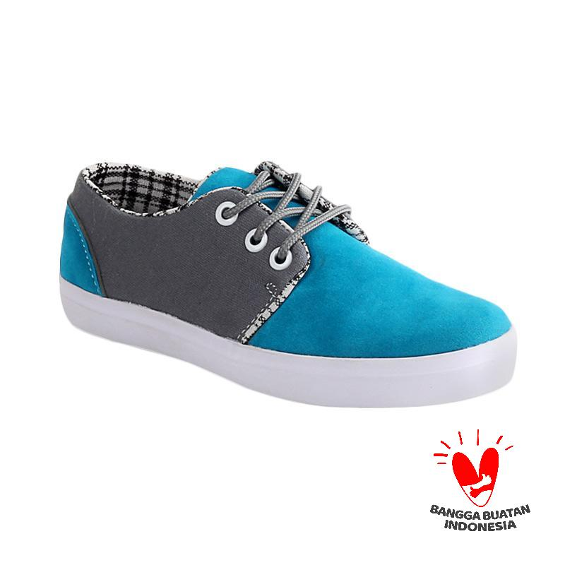 Blackkelly LMN 738 Tracy Sepatu Casual Anak - Blue Grey