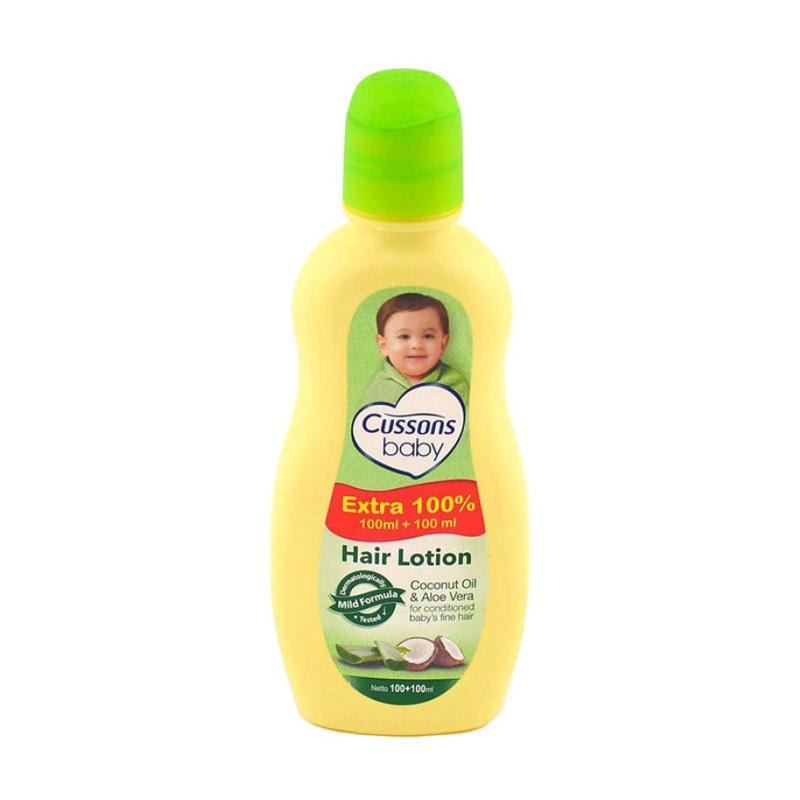 Cussons Baby Hair Lotion Coconut Oil and Aloe Vera [100+100 mL]