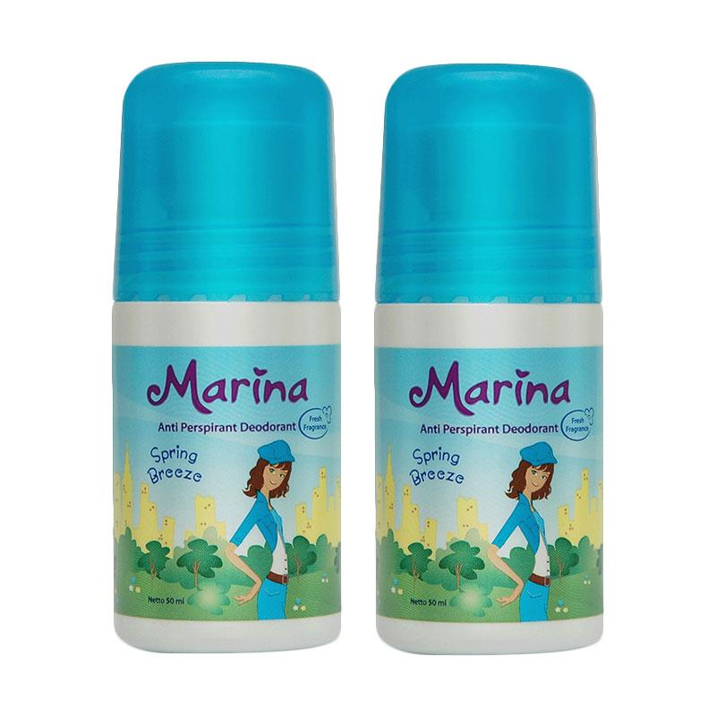 Marina Anti Pespirant Deodorant Spring Breeze [50 mL/ 2 pcs]