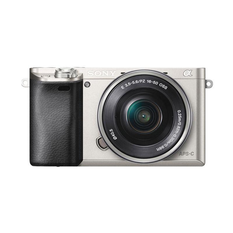 Sony Alpha A6000 Kit 16-50mm F3.5-5.6 OSS Kamera Mirrorless - Silver