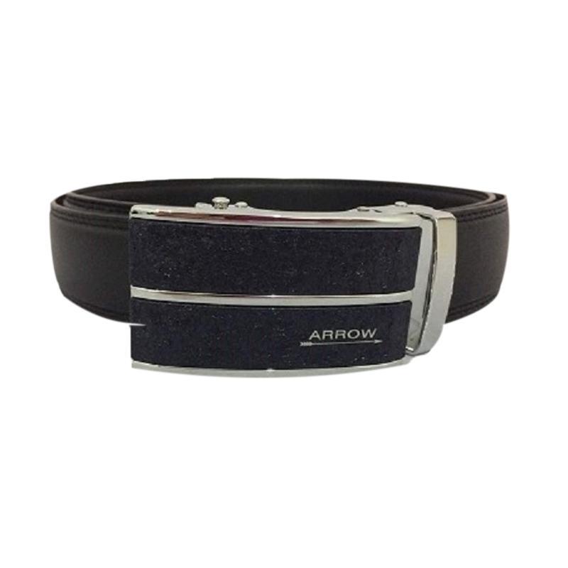 Arrow Leather Belt Ikat Pinggang Pria BP-AR2124SRA21-ZD5-590 - Black