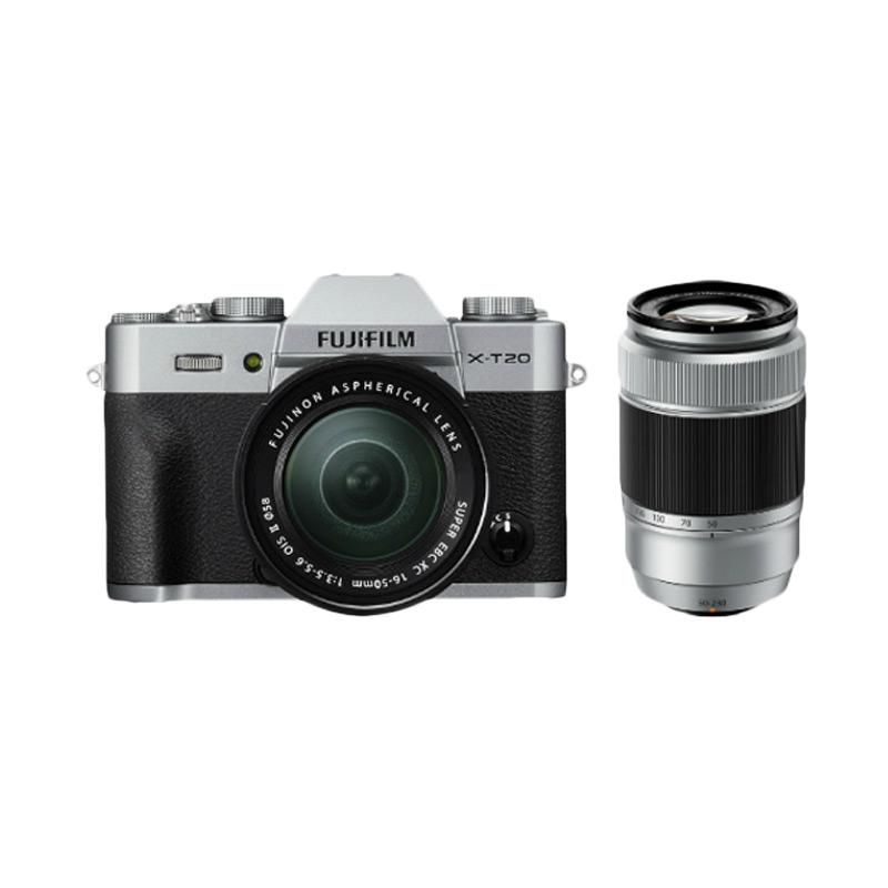 Fujifilm X-T20 Double Kit 16-50mm and 50-230mm