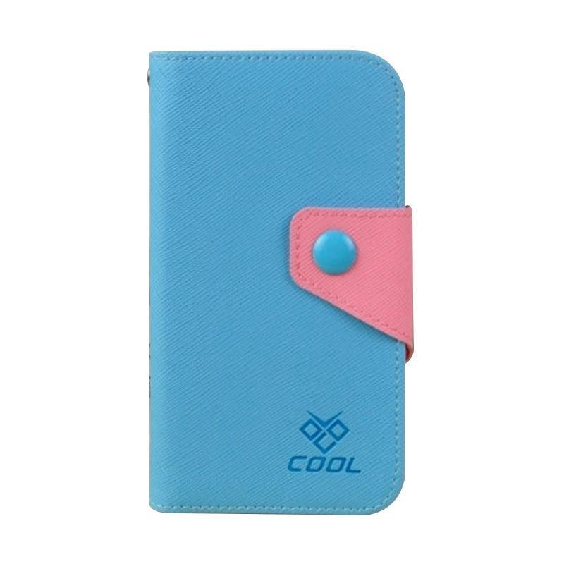 OEM Case Rainbow Cover Casing for Sony Xperia ZR M36H - Biru