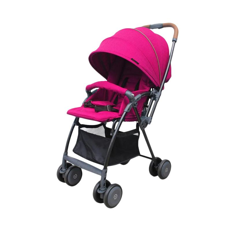 Oyster Stroller Air Kereta Dorong Bayi - Wow Pink