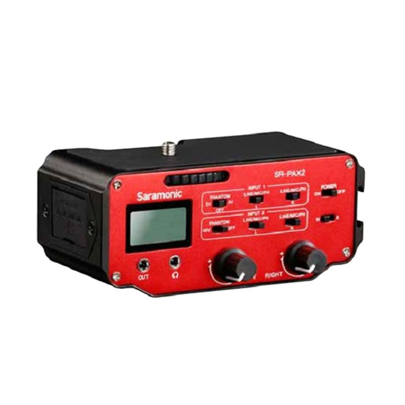 harga Saramonic SR-PAX2 Audio Mixer for DSLR/CSC/Blackmagic Blibli.com