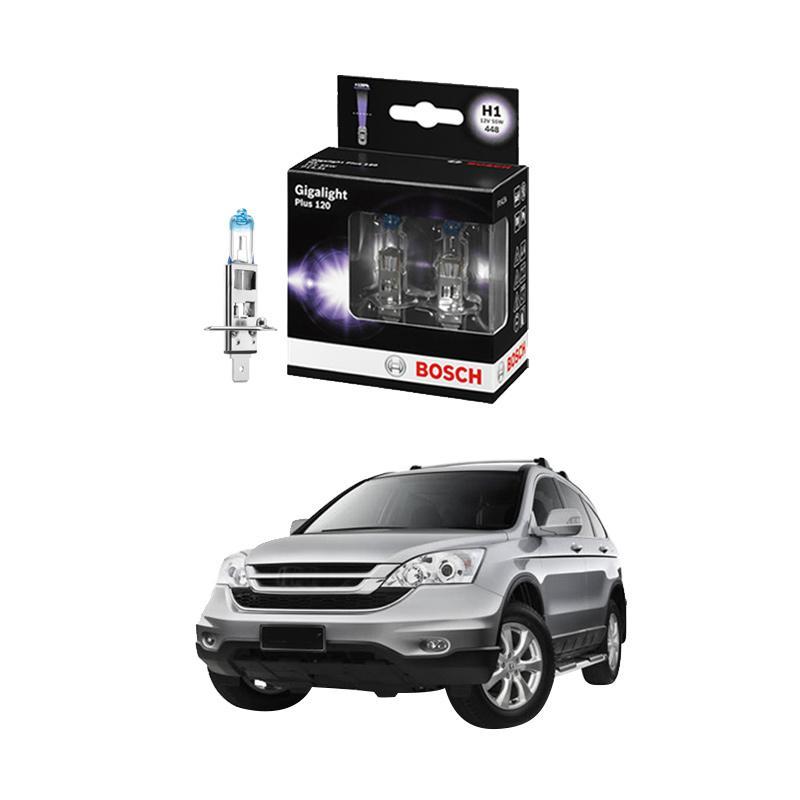 Bosch H1 Gigalight Bohlam Lampu Mobil For CR-V Vtec 2.0 I - Tahun 2002 - 2013