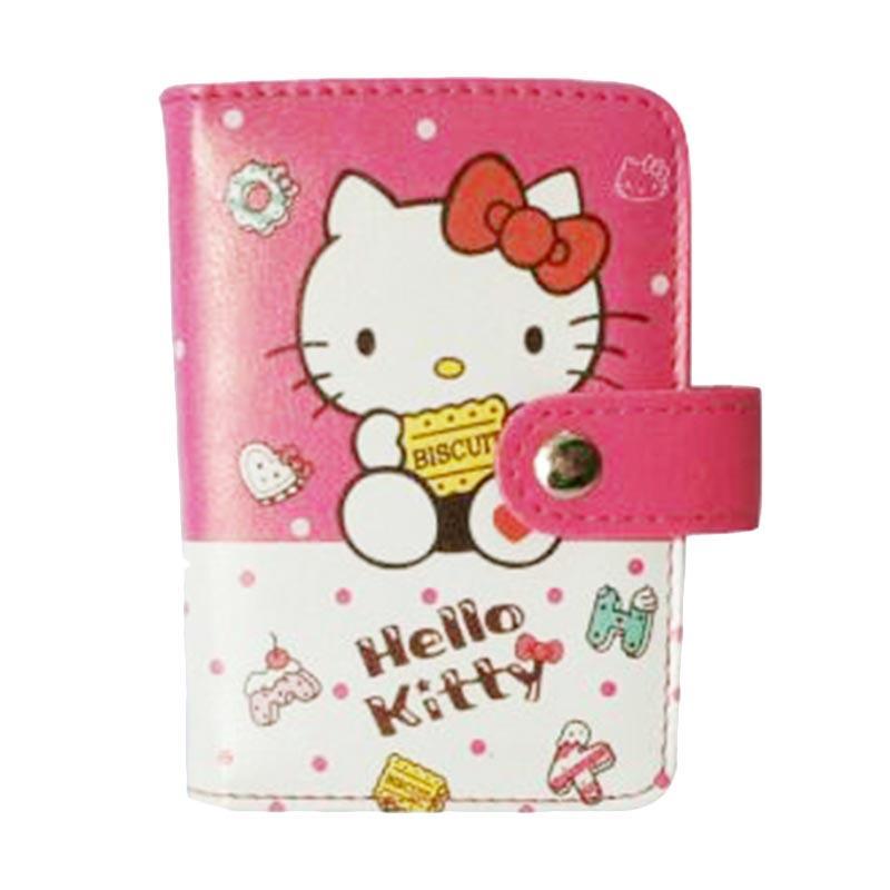 Hello Kitty HK Biscuit Fanta Kartu - Putih Pink